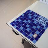 Erstklassiges blaues Glasmosaik für Swimmingpool-Fliese