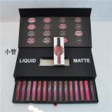 Waterdichte Lipgloss 16 van de Steen van de Lippenstift van de Schoonheid van Huda de Reeks van de Doos van de Gift