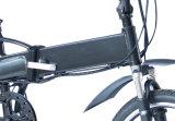 """Bicicleta de dobramento elétrica do Ce 20 """" com a bateria de lítio escondida"""