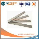 Bande de carbure de tungstène cimenté des barres de coupe à blanc