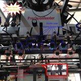 Máquina de abertura de una ranura en de cadena de alta velocidad automática del laminador de la cartulina