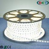 Striscia più luminosa impermeabile della flessione 5050 110V 220V 60LEDs/M LED