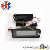 luz del coche de los bulbos LED del número de matrícula 5W para Skoda 4D estupendo (HS-LED-007)
