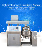 Equipamento de homogeneização da emulsão para o gelado e o creme da cabeça