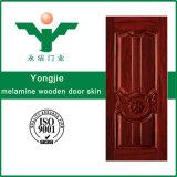 Piel caliente de la puerta del MDF de la exportación de China/piel moldeada melamina