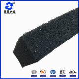 Sellado de alta temperatura suave esponja resistente a la pegajosa espuma Antiflaming