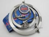 押すロゴの空の旧式な銀によってめっきされるメダル(GZHY-MB-005)を