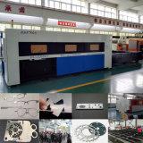 máquina de estaca do laser da fibra do metal 1500W com o servo motor importado