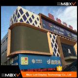2018 Nouveau P3 P4 P6 P10 flexible ajusté incurvée Affichage sur le mur à LED pour la publicité créative