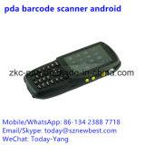 WiFi 3Gのバーコードのスキャンナー(ZKC3501)が付いているPOS装置