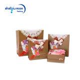 Diverso rectángulo de papel de embalaje de Brown del regalo de la talla (QY160377)