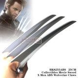 Il Wolverine d'acciaio degli uomini di Swordx di film di Collectibles artiglia 25cm HK8255ABS