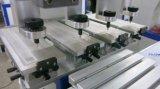 Semi-automatique de coupe d'encre 4 couleurs scellé avec navette de la machine de tampographie quatre couleurs de l'imprimante du tampon de la machine de tampographie