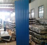 亜鉛シートの屋根デザイン波のアルミニウム亜鉛屋根ふきシートかサイズ