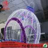 Éclairage à LED Boule de feu Gaint Motif pour Noël Décoration extérieure