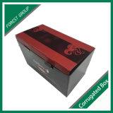 Бумажная коробка вина картона для упаковки подарка вина
