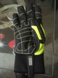 Спорты длиннего перста перчаток зимы задействуя напольные греют перчатки велосипеда