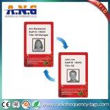 Cartão de sociedade Rewritable térmico do cartão para o sistema do estacionamento do carro
