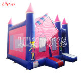 PVC con Ce inflables comerciales Bouncer Castle Jumping Moonwalk Combo de inflables