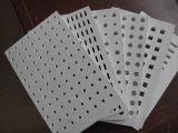 Vinyl beschichtete Kurbelgehäuse-Belüftung lamellierte Decken-Fliesen des Gips-60X60