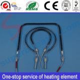 Elemento radiante del riscaldatore del tubo del riscaldamento del quarzo di Infrared lontano