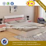 현대 목제 2인용 침대는 디자인한다 침실 침대 (HX-8NR0677)를