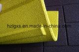 Красочный окружающей среды на ощупь резиновое пол керамическая плитка для продажи