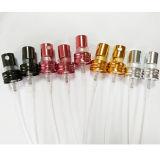 アルミニウム小型香水のスプレーヤーポンプかひだのスプレーポンプ