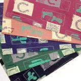 tessuto stampato 100%Cotton per la sciarpa dei vestiti dei bambini del vestito