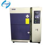 Gabinete de teste de refrigeração ar de choque térmico de duas caixas