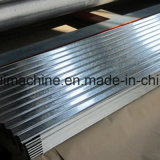 Feuille ondulée de toit de baril faisant la machine