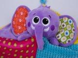 O cobertor 28*28cm do elefante
