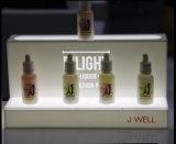 Electronic&#160 de acrílico; Visualización líquida de la botella del vapor con el LED
