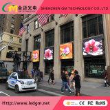 Cores exteriores de publicidade P6mm Video wall de LED para instalação fixa