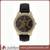 Reloj reloj de la moda de aleación de nuevo estilo reloj de pulsera Reloj de cuero