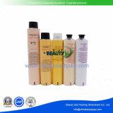 Tubo de empaquetado cosmético plegable vacío del cuidado de piel de la crema del tinte de pelo