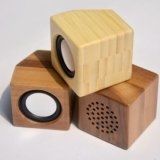 Диктор Subwoofer громкий Bluetooth самого нового квадрата формы деревянный
