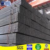 黒い正方形の鋼鉄管50X50の戸枠材料