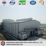 産業工場のための重い鉄骨構造