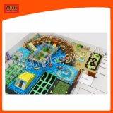 Огромный коммерческого применения внутри помещений мягкая игровая площадка с большими яму пены