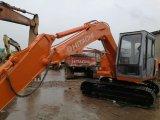 escavador hidráulico da máquina escavadora da potência da transmissão da mini pequena escala de 6ton Hitachi para a maquinaria de construção