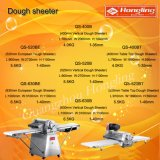 専門のパン屋装置520mmの垂直パン生地Sheeter