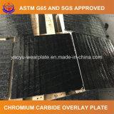 Plaque de soudure de carbure de chrome pour la pièce de meulage d'usure de la colle