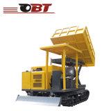 De goedkope Kipwagen van het Spoor van de Kipwagen van het Kruippakje van de Tuin Minidie in China wordt gemaakt