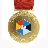 De aangepaste Medaille van het Metaal met de Sticker van het Embleem (md-04)