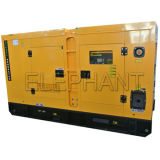 Вода фабрики 680kVA Китая охладила генератор сделанный Германией тепловозный