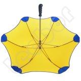 まっすぐなハンドルマニュアルの開いた高品質アルミニウムシャフトの傘