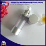bottiglia senz'aria d'argento opaca della pompa di 15ml 30ml 50ml 100ml