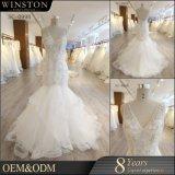 Neuer Entwurf plus Größen-Hochzeits-Kleider mit Hülsen
