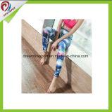 Mulheres impressas personalizadas Legging do desgaste da ioga da aptidão para a ioga